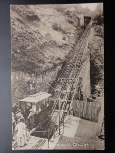Devon LYNMOUTH The Lift c1907 by Frith 58398