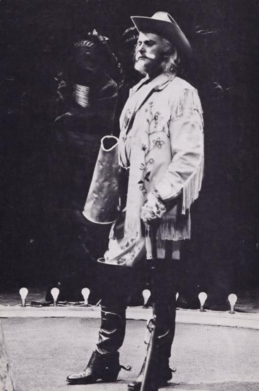 Barrie Ingham Indians Aldwych Play Rare Shakespeare Theatre Postcard