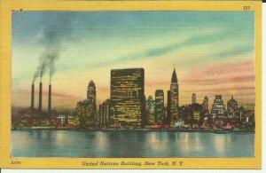New York,N.Y. United Nations Building