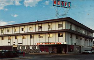 Billy Barker Inn Hotel Quesnel BC British Columbia Unused Vintage Postcard E14