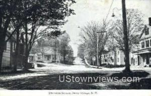 Thornton Square Derry Village NH Unused