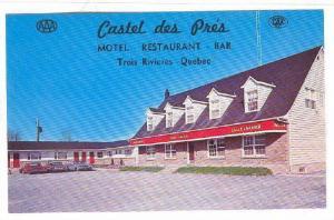 Castel Des Pres, Motel and Restaurant, Trois Rivieres, Quebec, Canada, 1940-1...