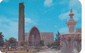 Mexico Monterrey Jardin Y Templo De La Purisima