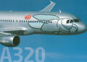 NIKI Airlines Airbus A320-214 Jet Airplane , 80-90s ; Version-2