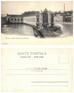 SWITZERLAND Postcard - Geneve, Geneva - Usine des Forces Motrices (PC10)