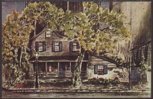 Pirates House,Savannah,GA Postcard