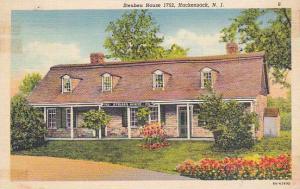 New Jersey Hackensack Steuben House 1752 1941