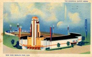 NY - 1939 World's Fair. Goodrich Safety Arena