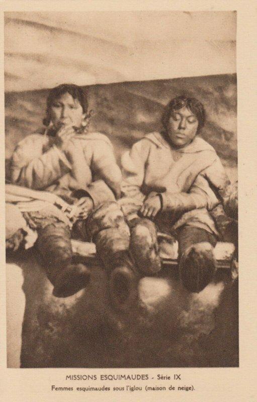 CANADA , 1910s ; Missions Esquimaudes #14