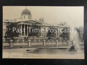 Early PC - LL.52 London - The National Gallery, postmark NORTH KENSINGTON SQ,C