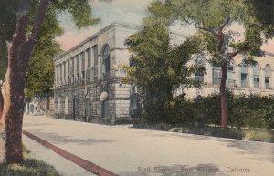 CALCUTTA , India , 00-10s ; Staff Barrack , Fort William