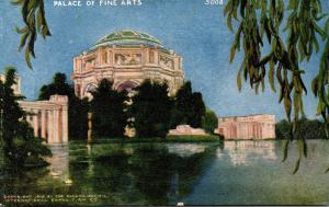 California San Francisco Palace Of Fine Arts Panama-Pacific International Expo
