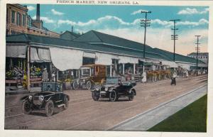 French Market, New Orleans, Louisiana, 1910-1920s