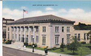 Post Office , BLOOMINGTON , Illinois , PU-1946