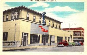 Virginia Pulaski Hotel Pulaski