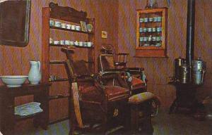Nebraska Minden Pioneer Village Barber Shop Of 1890