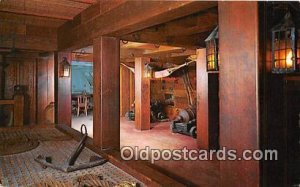 Gun Deck & Captain's Cabin Yorktown, VA Unused