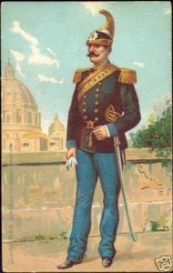 Vatican, Guardia Nobile Pontificia, Uniform (ca. 1899)