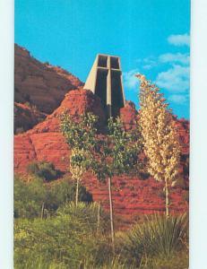 Unused Pre-1980 CHURCH SCENE Sedona Arizona AZ L4118