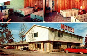 New York Syracuse Sturge Motel 1960