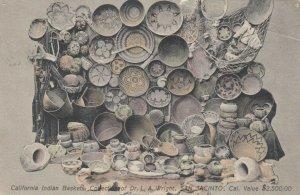 SAN JACINTO , California , 1911 ; California Indian Basket Collection