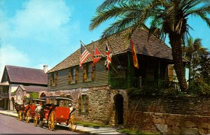 Florida St Augustine The Oldest House