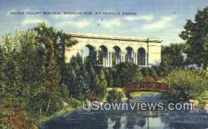 Thomas Taggart Memorial Riverside Park Indianapolis IN 1942 Missing Stamp