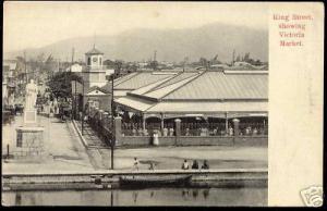 jamaica, KINGSTON, King Street, Victoria Market (1910)