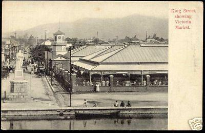 jamaica, KINGSTON, King Street, Victoria Market (1910)