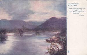 TUCK #1210, The Meeting Of The Waters, Strathpeffer, Scotland, UK, PU-1927