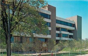 DeKalb Illinois~Northern Illinois University Founders Memorial Library~1960s