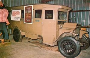 Chisholm MN~Museum of Mining~Lumberjack~1916 Model White Bus~Holds 12~1960s