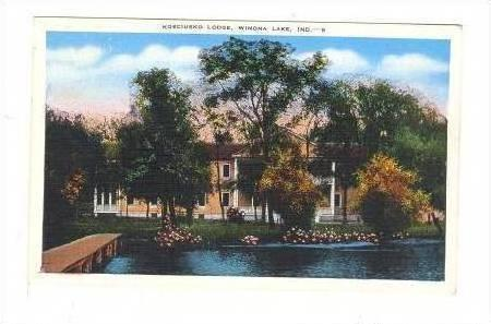 Kosciusko Lodge, Winona Lake, Indiana, PU-1944