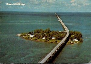 Florida Keys Seven Mile Bridge Over Pigeon Key 1978