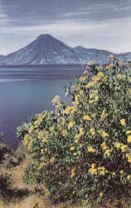 View Of LAKE ATITLAN, Guatemala, 1940-1960s