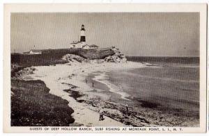 Lighthouse, Deep Hollow Ranch, Montauk Point NY