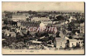 Old Postcard Alencon Vue Generale