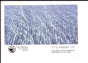 Nordia 1993, Specialized World Exhibition 1995, Finland, Advertising Postcard,
