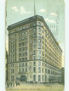 Divided Back TOURAINE HOTEL Boston Massachusetts MA HQ5041