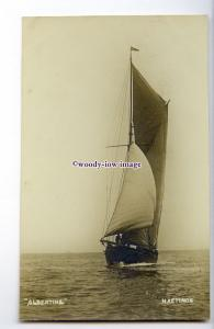 cb1086 - Sailing Ship - Albertine - postcard