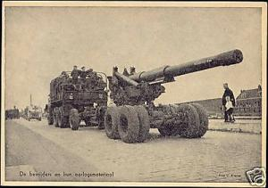 WWII - Netherlands, Liberators with Cannon Truck (1945)