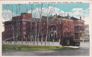 PORT ARTHUR, Ontario, Canada, 1900-1910's; St. Josephs General Hospital