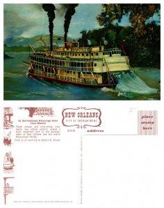 Old-Fashioned Mississippi River Stern Wheeler (8533)