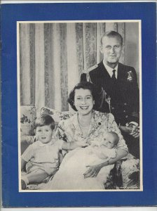 VANCOUVER, B. C., 1951; Royal Visit Programme Booklet