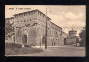 039470 ITALY Milano - Il Castello Sforzesco Vintage