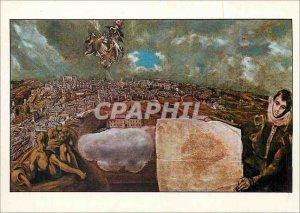 Postcard Modern Toledo Museum of Greco Greco Domenikos said Theotokopoulos Do...