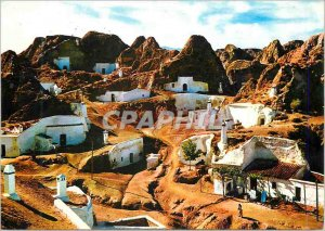 Postcard Modern Guadix Caves View