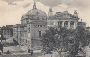 CHRISTIANIA , Norway , 1900-10s ; Nationaltheatret