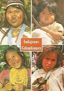 Postal 53920: Indigenas colombianos