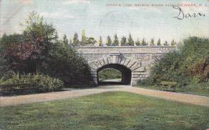 Lover's Lane, Branch Brook Park, Newark, New Jersey, PU-1908